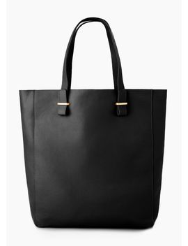 pebbled-leather-bag by mango