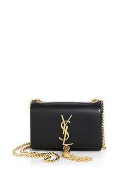 small-monogram-tassel-chain-wallet by saint-laurent