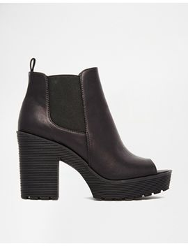 river-island-peep-toe-cleated-sole-ankle-boots by river-island