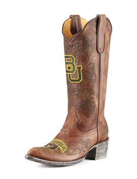 baylor-tall-gameday-boots,-brass by gameday-boot-company