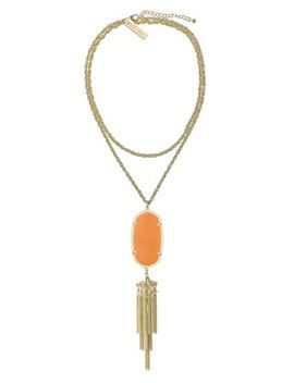 rayne-necklace-in-orange-coral by kendra-scott