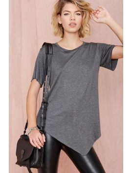 nasty-gal-playing-favorites-tee---charcoal by nasty-gal
