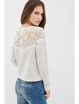 marled-crochet-top by forever-21