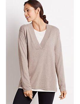 pure-jill-deep-v-pullover by jjill