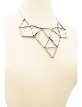 cutout-geo-statement-necklace by forever-21