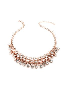 bezel-set-rhinestone-necklace by forever-21
