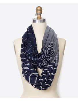 striped-infinity-scarf by ann-taylor