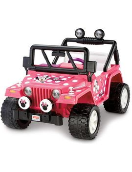 power-wheels-disney-minnie-mouse-jeep-12-volt-battery-powered-ride-on by power-wheels