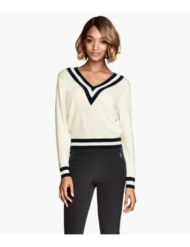 v-neck-jumper by h&m