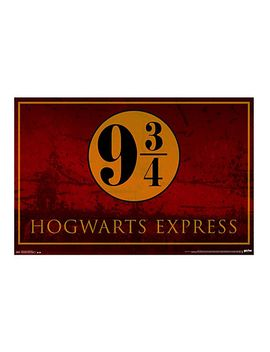 harry-potter-hogwarts-express-poster by hot-topic
