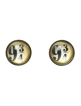 harry-potter-9-3_4-stud-earrings by hot-topic