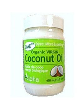 coconut-oil--organic-extra-virgin-unrefined-dme-(450ml)-brand:-alpha-health-products by alpha-health-products