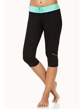 reflective-performance-capris by forever-21