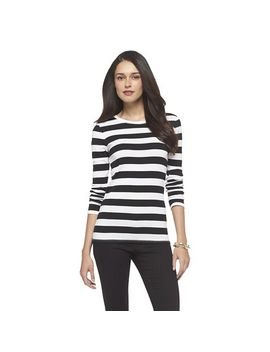 target-:-expect-more-pay-less by -womens-ultimate-long-sleeve-scoop-tee-merona®