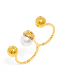 oyster-two-finger-ring by baublebar