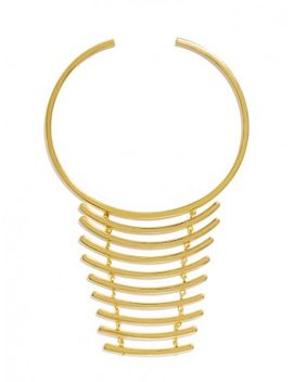 gold-vertebrae-bib by baublebar