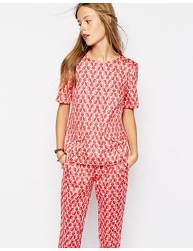 people-tree-with-orla-kiely-organic-cotton-top-with-pockets-in-wallflower-print by people-tree