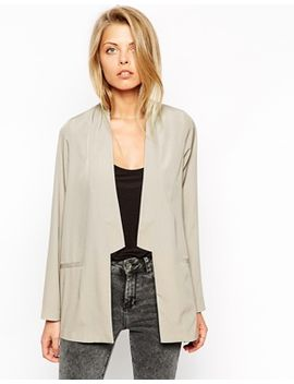 asos-soft-blazer-with-notch-lapel by asos-collection