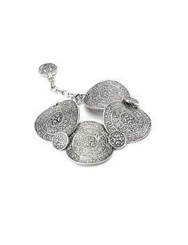 etched-medallion-bracelet by forever-21