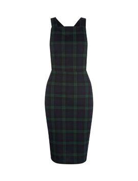 green-check-pinafore-dress by new-look