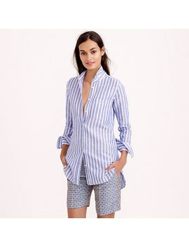 tall-long-cotton-linen-boy-shirt-in-stripe by jcrew