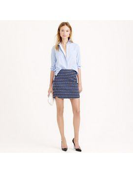 jet-set-geo-mini-skirt by jcrew