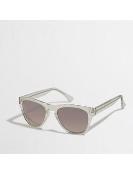 clear-frame-sunglasses by jcrew