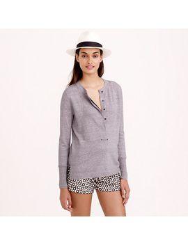 grommet-henley-sweater by jcrew