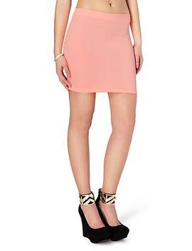 scuba-body-con-mini-skirt by rue21