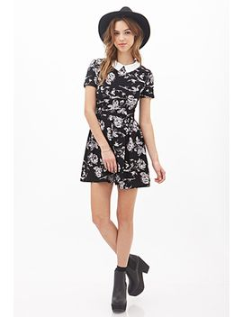 peter-pan-collar-floral-dress by forever-21