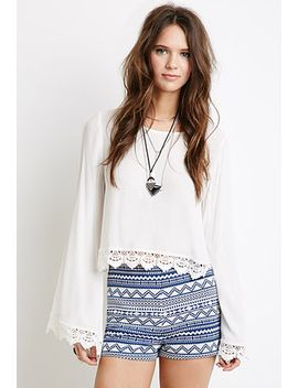 southwestern-patterned-shorts by forever-21