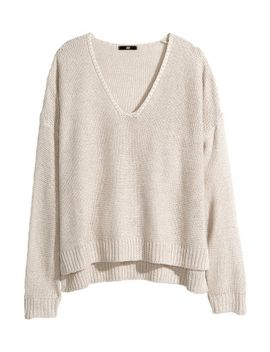 purl-knit-sweater by h&m