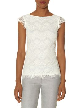 layered-lace-tee by the-limited