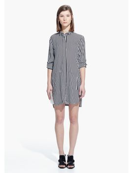 striped-shirt-dress by mango