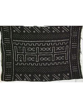 african-mud-cloth-bogolan-bambara-bogolanfini-new-africa-bamana-fabric-b506 by ebay-seller