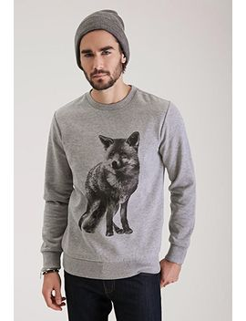 fox-graphic-sweatshirt by forever-21