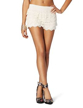 crochet-tiered-short by rue21