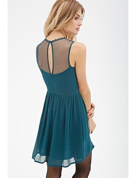 embroidered-fit-&-flare-dress by forever-21