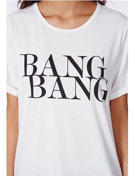 calita-bang-bang-boyfriend-t-shirt-white by missguided