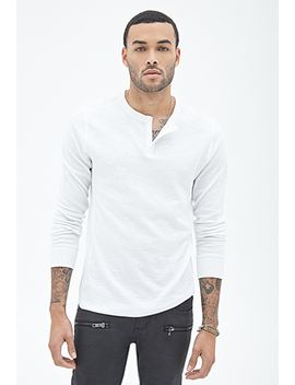 paneled-thermal-henley by forever-21