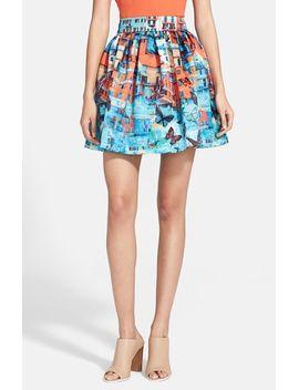 stora-print-pouf-skirt by alice-+-olivia