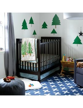 nature-trail-crib-bedding by the-land-of-nod