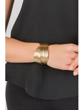 cairo-wire-cuff-bracelet by francescas