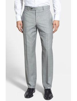 jefferson-flat-front-wool-trousers by ted-baker-london