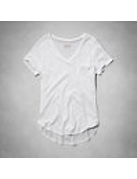 ribbed-slim-tee by abercrombie-&-fitch