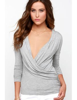 have-it-your-sway-heather-grey-long-sleeve-top by lulus