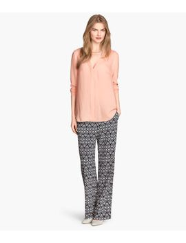 patterned-pants by h&m