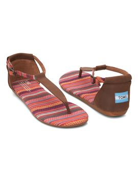 brown-woven-playa-leather-sandal by toms