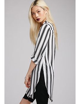 side-slit-striped-blouse by forever-21