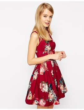 asos-floral-debutante-mini-dress by asos-collection